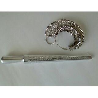 リングゲージ 棒タイプ リングタイプ 指輪 サイズ 計測(その他)