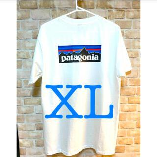 パタゴニア(patagonia)のPatagonia Tシャツ XLホワイト(Tシャツ/カットソー(半袖/袖なし))