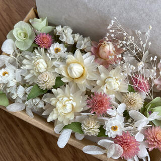 プリザーブド&ドライフラワー花材セット