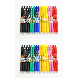 サラサ(さらさ)の新品 ゼブラ SARASA  スヌーピー 香り付き 8種 4セット 計32本(ペン/マーカー)