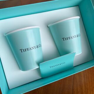 Tiffany & Co. - ティファニー ボーンチャイナ ペーパーカップ