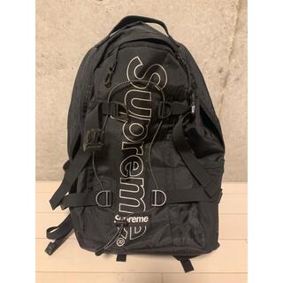 シュプリーム(Supreme)のリュック バックパック シュプリーム 18 ブラック(バッグパック/リュック)