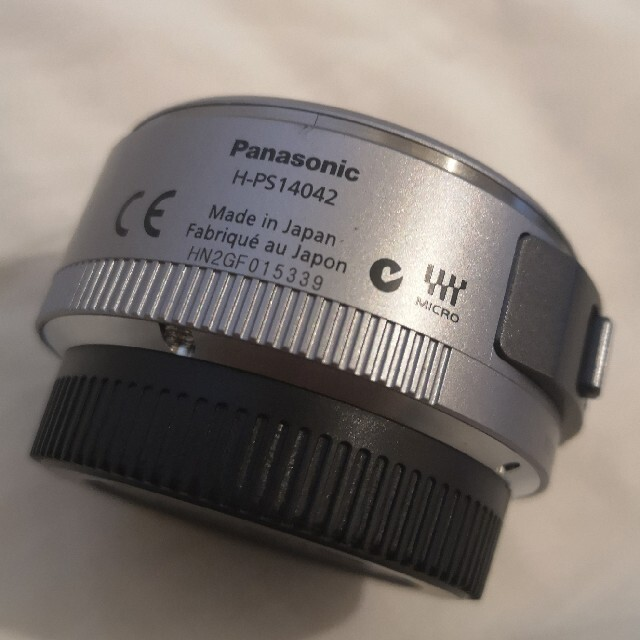 Panasonic(パナソニック)のlumix PZ14-42mm H-PS14042 レンズ スマホ/家電/カメラのカメラ(ミラーレス一眼)の商品写真