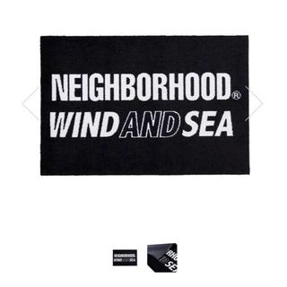 NEIGHBORHOOD - WIND AND SEA × NEIGHBORHOOD マット ラグ