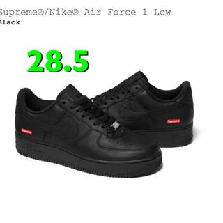 Supreme - supreme AIR FORCE1 シュプリーム エアフォース1 BLACK