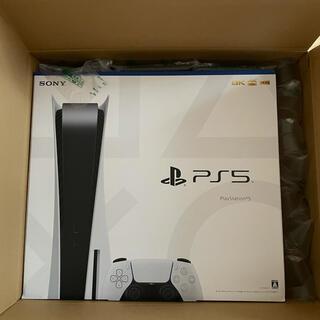 ソニー(SONY)の【通常版】PS5 ディスクドライブ搭載モデル CFI-1000A01(家庭用ゲーム機本体)