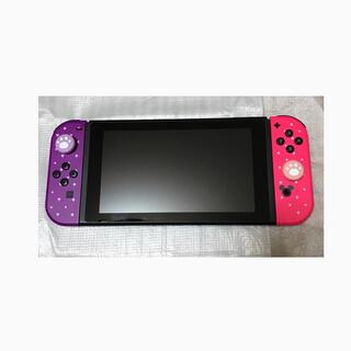 Nintendo Switch - 【美品】ニンテンドースイッチ本体 ディズニーツムツム ジョイコン ドックセット