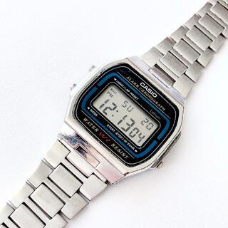 カシオ(CASIO)の懐かしい昭和レトロ CASIO メンズ デジタル腕時計 稼動品(腕時計(デジタル))