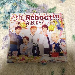 エービーシーズィー(A.B.C.-Z)のReboot!!!/A.B.C-Z 初回限定5周年Anniversary盤(ミュージック)