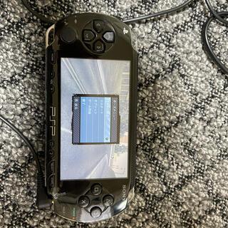 ソニー(SONY)のPSP 1000 本体 ブラック(携帯用ゲーム機本体)