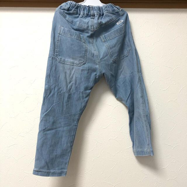 Branshes(ブランシェス)のRADCHAP 7daysゆるテーパードパンツ  110 ブルー キッズ/ベビー/マタニティのキッズ服男の子用(90cm~)(パンツ/スパッツ)の商品写真