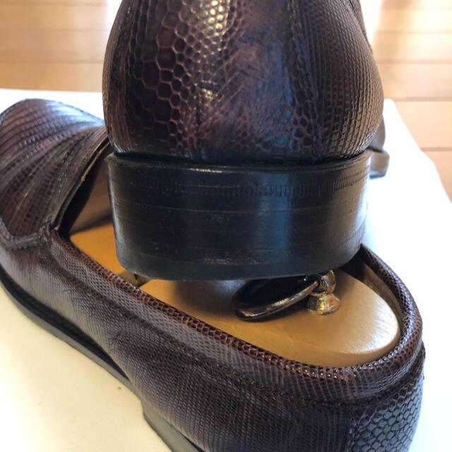 Giacometti(ジャコメッティ)のジャコメッティ リザード ローファー メンズの靴/シューズ(ドレス/ビジネス)の商品写真