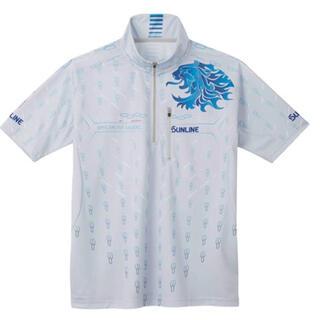 サンライン PRODRYシャツ(半袖)SUW-5573CW ライトグレーLサイズ(ウエア)