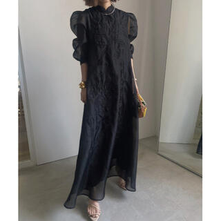 Ameri VINTAGE - タグ有❗️ MEDI FOREST EMBROIDERY DRESS アメリ