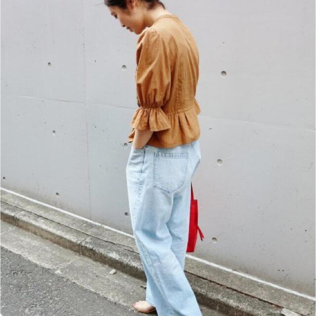 IENA(イエナ)のコットンレース パフスリーブ ブラウス レディースのトップス(シャツ/ブラウス(長袖/七分))の商品写真