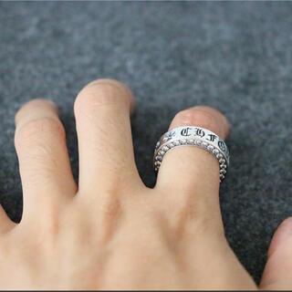シルバー925 リング 指輪 クロス好きに クロムハーツ好きに☆