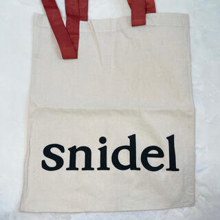 snidel - SNIDEL スナイデル ショッパー エコバッグ トートバッグ サブバッグ