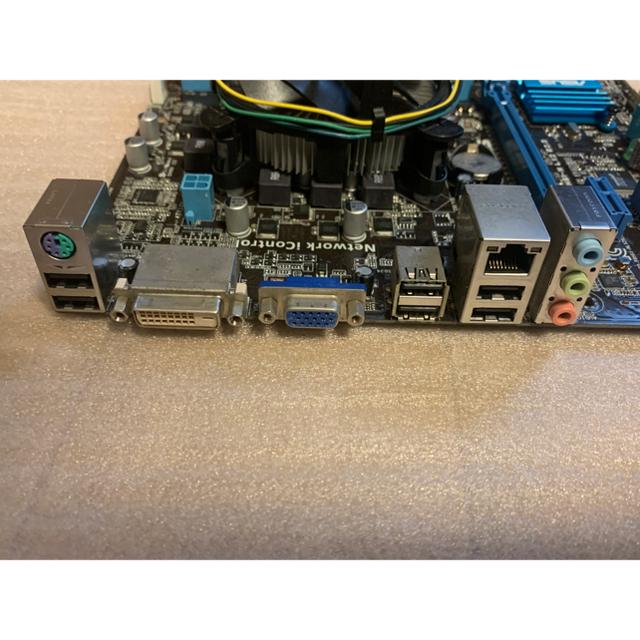 intel i5 3450 メモリ8GB マザーボードセット スマホ/家電/カメラのPC/タブレット(PCパーツ)の商品写真