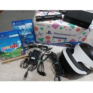 プレイステーションヴィーアール(PlayStation VR)のプレイステーションVR ソフト2本セット(家庭用ゲーム機本体)