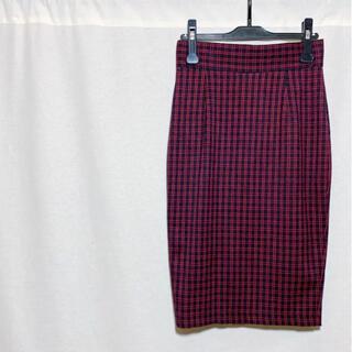 TODAYFUL - 【極美品】TODAYFUL トゥデイフル チェックタイトスカート レディース F
