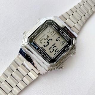 カシオ(CASIO)の懐かしい昭和レトロ CASIO メンズ デジタル腕時計 稼動品 ライト付(腕時計(デジタル))