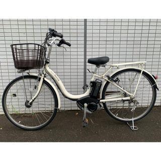 ブリヂストン(BRIDGESTONE)のブリジストン assista ホワイト 2015年 新基準 電動アシスト自転車(自転車本体)