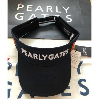 PEARLY GATES - パーリーゲイツサンバイザー ゴルフ