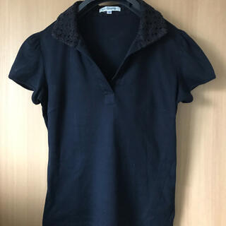 NARACAMICIE - ナラカミーチェ チューリップ袖 カットソー 紺 サイズ1