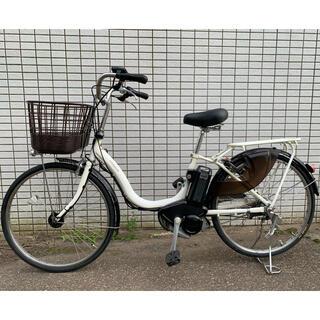 ヤマハ(ヤマハ)のYAMAHA PAS natura ホワイト 新基準 電動アシスト自転車(自転車本体)