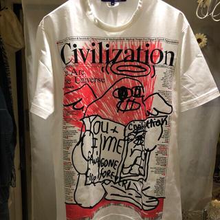 ジュンヤワタナベコムデギャルソン(JUNYA WATANABE COMME des GARCONS)のコムデギャルソン ジュンヤ・ワタナベマン 未使用 Tシャツ(シャツ)