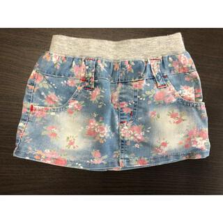 ニシマツヤ(西松屋)の西松屋 花柄スカート 90センチ(スカート)