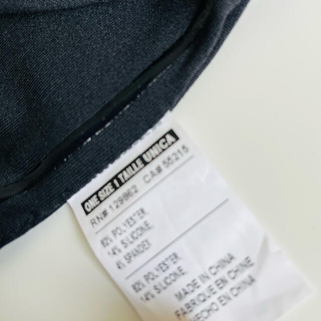 NIKE(ナイキ)のNIKE ナイキ ヘアバンド ブラック Dri-Fit ワイド ターバン レディースのヘアアクセサリー(ヘアバンド)の商品写真