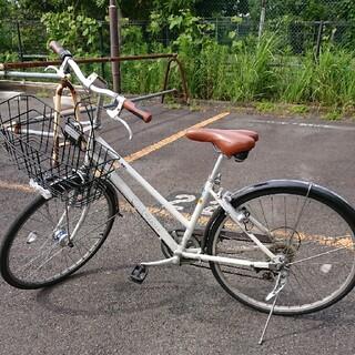 ブリヂストン(BRIDGESTONE)の六段変則 ブリジストン 自転車 VT66T(自転車本体)