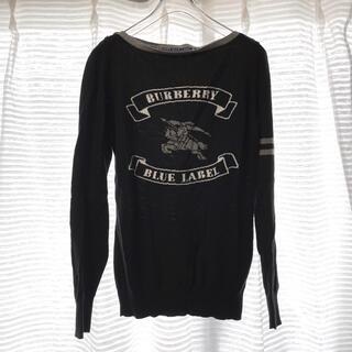 BURBERRY BLUE LABEL - ◆バーバリー ブルーレーベル BURBERRY ニット セーター