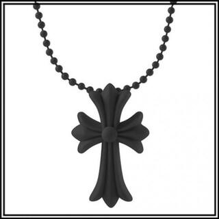 クロス ラバーネックレス 十字架 シリコン ノーブランド ブラック 36A F