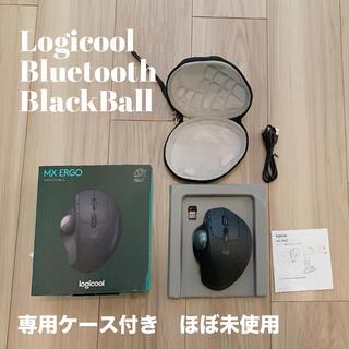 ロジクール マウス トラックボール ケース付 未使用に近い logicool