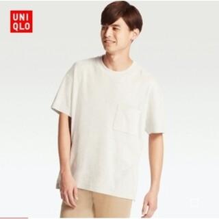 UNIQLO - 美品 UNIQLO オーバーサイズ クルーネックT(半袖)