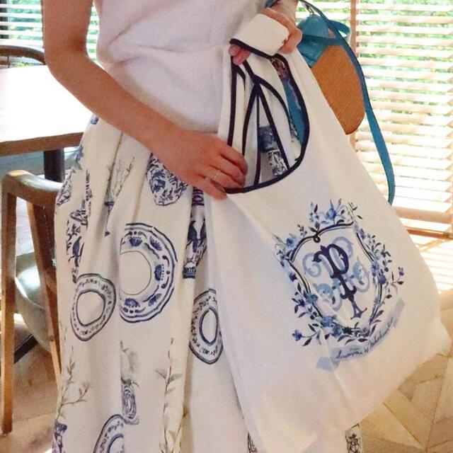 Drawer(ドゥロワー)のセブンテン SEVENTEN パレスホテル エコバッグ エンブレム 新品 レディースのバッグ(エコバッグ)の商品写真