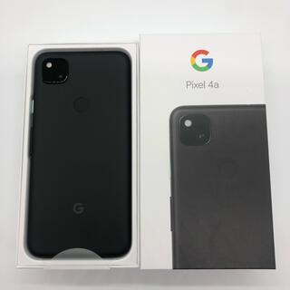 Google Pixel - Google Pixel 4a  JustBlack 128 GB SIMフリー