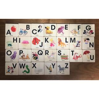 ディズニー(Disney)のディズニー アルファベット積み木(積み木/ブロック)