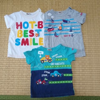 HOT BISCUITS - 80size ホットビスケッツ まとめ売り 半袖Tシャツ3着