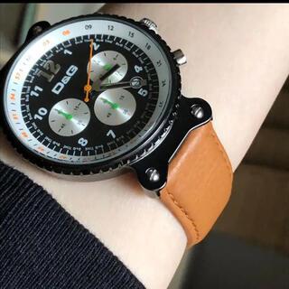 ドルチェアンドガッバーナ(DOLCE&GABBANA)のドルチェアンドガッパーナ腕時計 稼働中 美品(腕時計(アナログ))