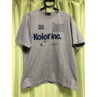 kolor - kolor 銀座シックス限定Tシャツ サイズ1