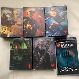 マジックザギャザリング(マジック:ザ・ギャザリング)のマジック ザ ギャザリング ウェルカムデッキ 5種+ウェルカムブースターパック(Box/デッキ/パック)