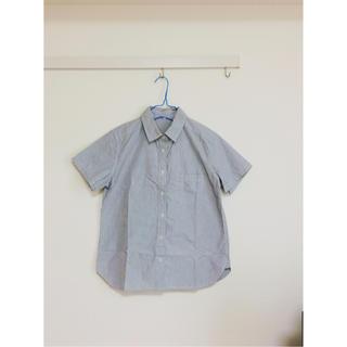 ムジルシリョウヒン(MUJI (無印良品))の未使用♩MUJIストライプシャツ(シャツ/ブラウス(半袖/袖なし))
