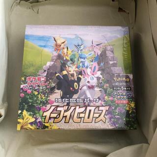 ポケモン(ポケモン)のポケモンカードゲーム ソード&シールド強化拡張パック イーブイヒーローズBOX(Box/デッキ/パック)