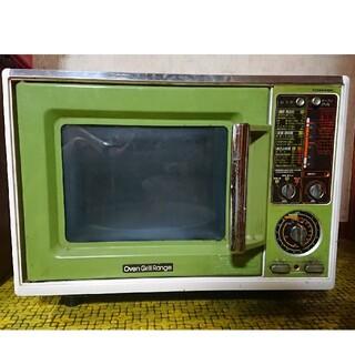 トウシバ(東芝)のレトロ家電 東芝オーブングリルレンジ ER-508G(電子レンジ)