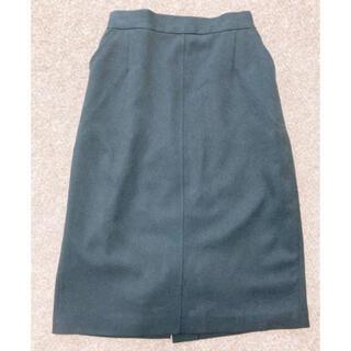 quatre epice 黒タイトスカート シンプル ポケット付
