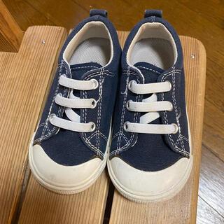 ムジルシリョウヒン(MUJI (無印良品))の無印良品 キッズ ベビー靴 15cm(スニーカー)