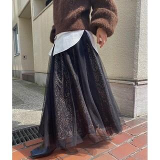 Ameri VINTAGE - 【新品】 アメリヴィンテージ カーテンレースチュールスカート
